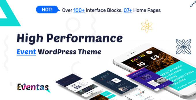 Eventas - Event WordPress Theme