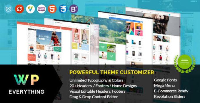 Everything - Woocommerce Responsive WordPress Theme