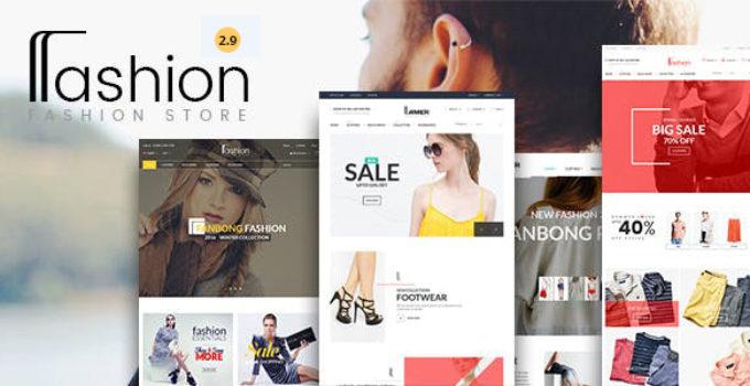 Fashion Store - Hanbags, Shoer RTL Responsive WooCommerce WordPress Theme
