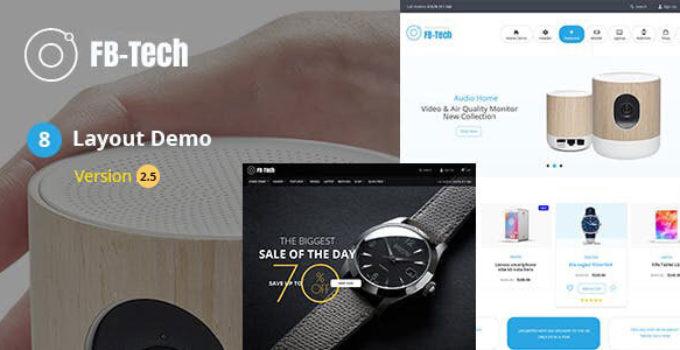 FBTech - Digital RTL WooCommerce Theme