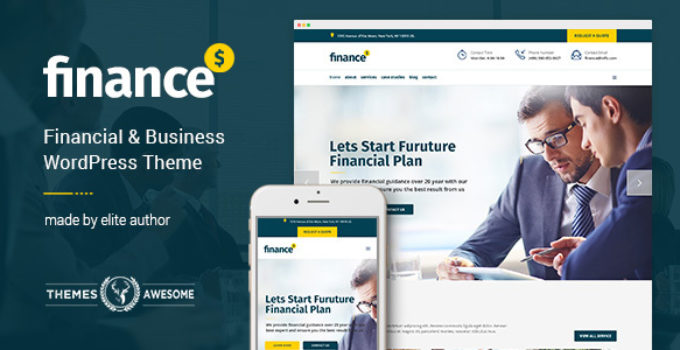 Finance - Financial, Business Accounting Theme