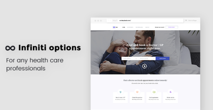 Find a Doctor WordPress Theme - Medican