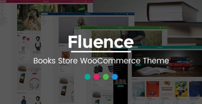 Fluence - Books Store Multipurpose Responsive WooCommerce WordPress Theme