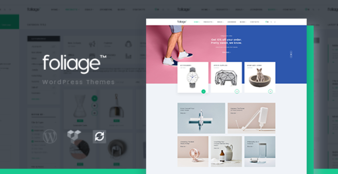 Foliage - Multipurpose WooCommerce WordPress Theme