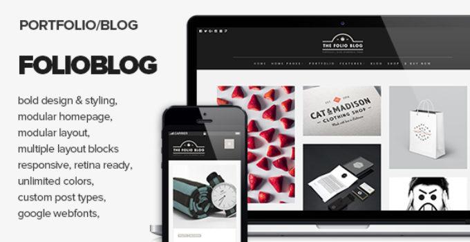 FolioBlog - Creative & Responsive Theme For Artists & Bloggers
