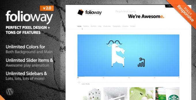 Folioway - Premium Portfolio WordPress Theme