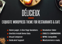 Food Delicieux   Creative Restaurant Wordpress Theme