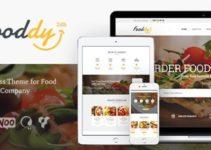 Fooddy 24/7 - Food Ordering & Delivery WordPress Theme