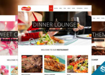 Frattini | A Premium Restaurant, Cakes and Coffee WordPress Template