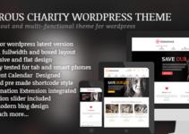 Generous - Charity / Non-Profit / Orphan / Fund-raising / Crowd-funding WordPress Theme