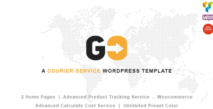 GO Courier– A Courier & Delivery Service WordPress Theme