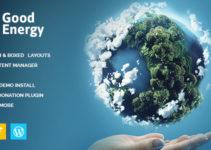 Good Energy - Ecology & Renewable Energy Company WordPress Theme