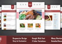 Goodold Restaurant - Responsive WordPress Theme