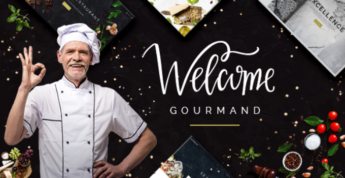 Gourmand - A Theme for Restaurants, Bistros and Chefs