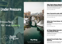 GraceUnderPressure | Responsive Theme Optimised for Touch