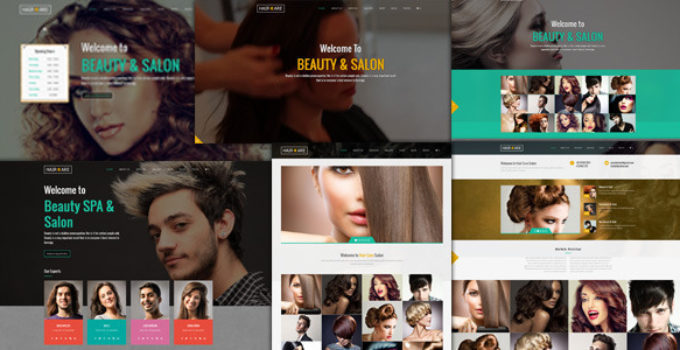 Hair Care - Creative Multi-Purpose WordPress Theme
