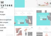 HappyStore - Responsive WordPress WooCommerce Theme