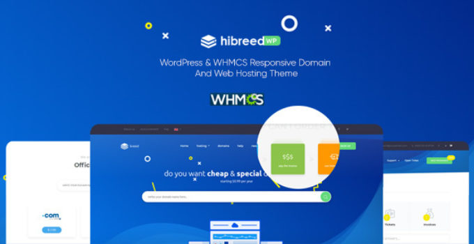 hibreed - WordPress & WHMCS Hosting Theme