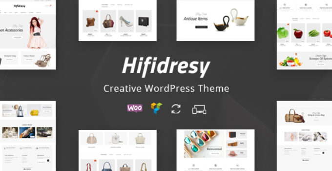 Hifidresy - Multipurpose WooCommerce Theme