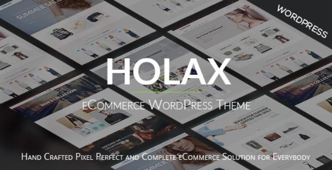 Holax – Fashion WooCommerce WP Theme