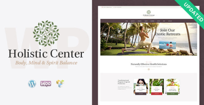 Holistic Center - Wellness and Spa WordPress Theme