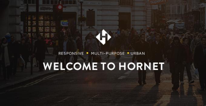 Hornet - An Urban Multi-Purpose Theme