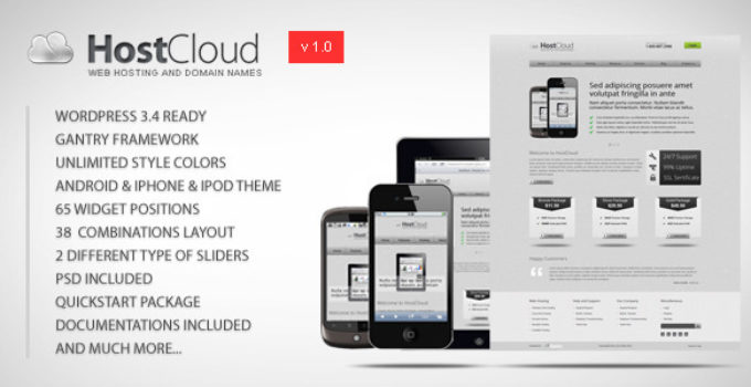 HostCloud - Premium WordPress Theme FREE Download | wpnull24