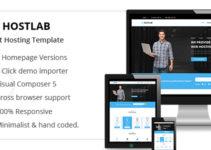 HostLab - Hosting & Technology WordPress Theme