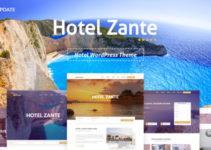 Hotel Zante - Hotel WordPress Theme For Hotel Booking
