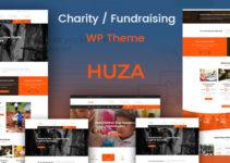 Huza - Charity/Fundraising Responsive WordPress Theme