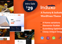 Induxo - Factory & Industrial WordPress Theme