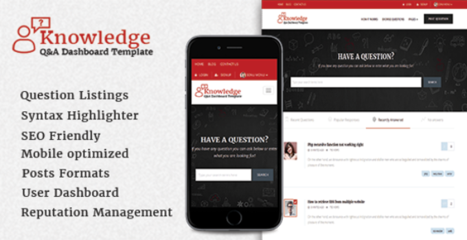 InfoCenter - Knowledge Base and Q/A WordPress Theme
