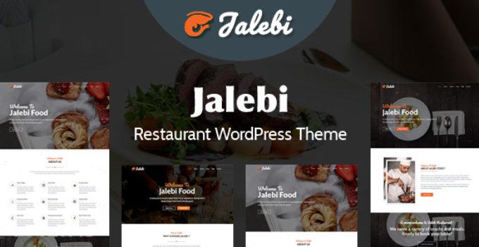 Jalebi - Restaurant WordPress Theme