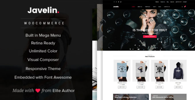 Javelin - Woocommerce WordPress Theme