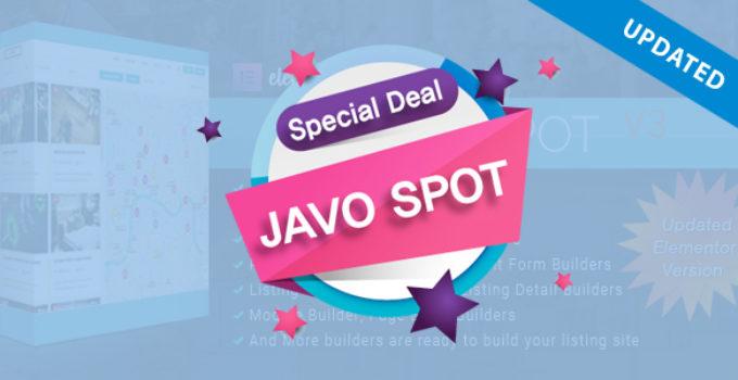Javo Spot - Multi Purpose Directory WordPress Theme