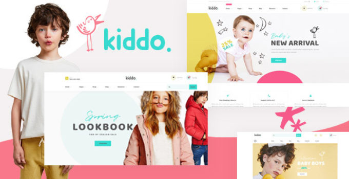 Kiddo - Baby & Kid Fashion WooCommerce WordPress Theme