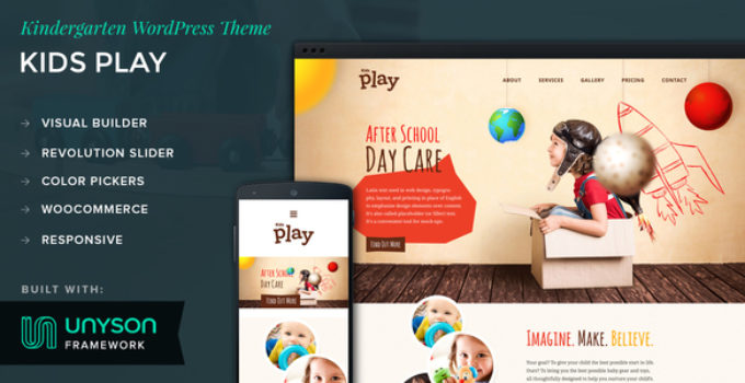 Kids Play - Kindergarten WordPress Theme