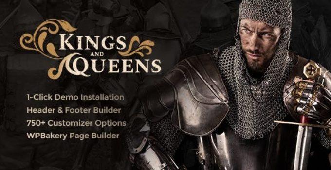 Kings & Queens | Historical Reenactment WordPress Theme