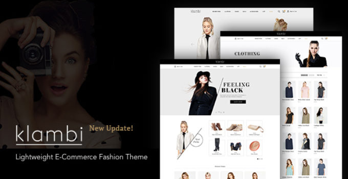 Klambi - Lightweight E-Commerce Fashion Theme