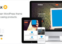 Kodax - Full Screen Landing Page
