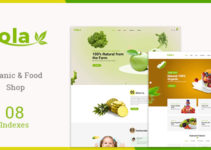 Kola - Organic & Food WooCommerce WordPress Theme
