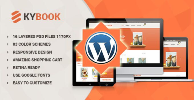 KyBook - Responsive eCommerce WordPress Theme
