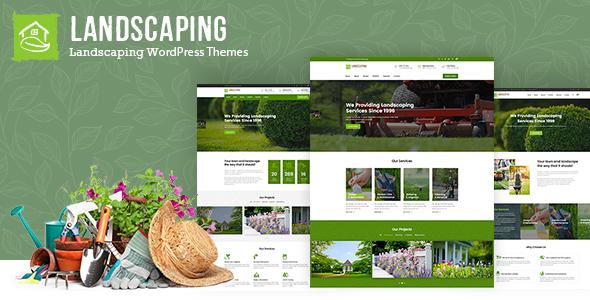 Lawn Landscape WordPress Theme