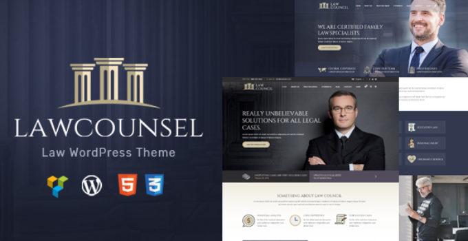 LawCounsel - Lawyers & Law Firm WordPress Theme