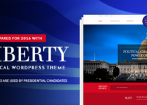 Liberty - Your Political WordPress Theme