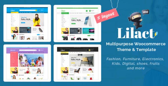 Lilac - Fashion Responsive WooCommerce WordPress Theme