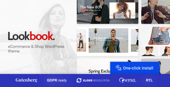 Lookbook - Fashion Store & Clothing Woocommerce Theme