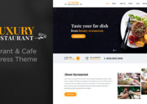Luxury - Restaurant & Cafe Theme