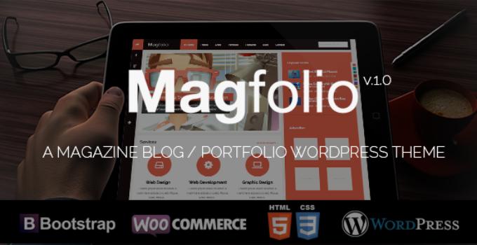 Magfolio - WP WooCommerce Portfolio Blog Theme