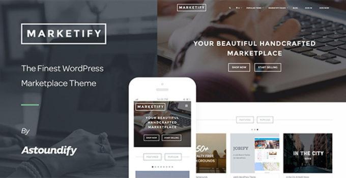Marketify - Digital Marketplace WordPress Theme
